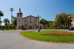 Mission Santa Clara de Asis Stock Image
