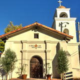 Mission Santa Cruz Royalty Free Stock Photo