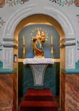 Mission Santa Ines shrine Royalty Free Stock Photo
