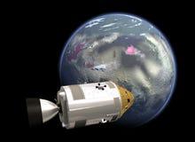 Mission spatiale de la NASA Photos libres de droits