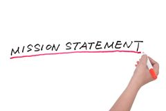 Mission statement Stock Images