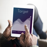 Mission Success Competition Strategy Target Concept. Mission Competition Strategy Target Concept stock photography