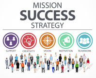 Mission Success Strategy Achievement Strategy Concept Royalty Free Stock Image