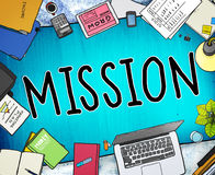 Mission Success Target Aim Goal Concept Royalty Free Stock Photo