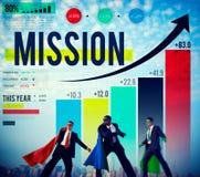 Mission Success Target Solution Aim Aspiration Concept stock images