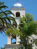 Mission Tower. /bell tower royalty free stock images