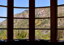 Mission Trails Scenery. Mission Trails Regional Park Scenery viewed from the Visitor's Center Library Stock Photography