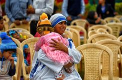 Free Missionaries Of Charity With The Orphan Royalty Free Stock Photo - 134529345