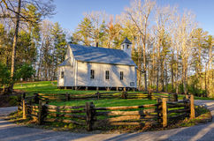 Missionary Baptist Church, Cades Cove, Great Smoky Mountains Royalty Free Stock Photo