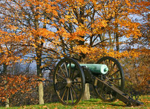 Missionary Ridge Canon in Autumn Royalty Free Stock Images