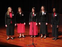 Missionary Sisters Singers Stock Photos