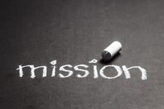 Missione fotografia stock libera da diritti