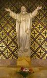 Missione Dolores San Francisco della statua del Jesus Fotografia Stock Libera da Diritti