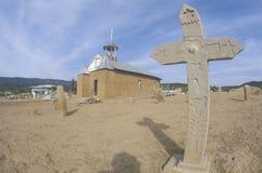 Missione nel deserto, CA di San Ysidro immagini stock