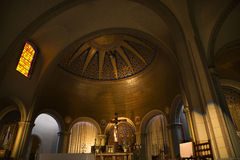 missione san di Dolores Francisco della traversa della basilica dell'altare Fotografia Stock Libera da Diritti