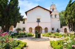 Missione San Juan Bautista State Historic Park Immagini Stock Libere da Diritti