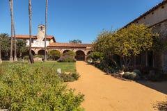 Missione San Juan Capistrano in California del sud Fotografia Stock Libera da Diritti