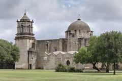 Missione San Juan de Capistrano, San Antonio, il Texas fotografia stock