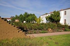 Missione San Luis Rey Garden Fotografie Stock Libere da Diritti