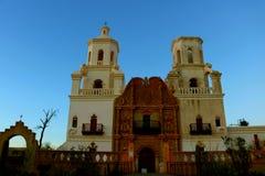 Missione San Xavier Catholic Church Fotografia Stock Libera da Diritti