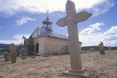 Missione in San Ysidro New Mexico immagine stock libera da diritti