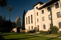 Missione Santa Clara Immagine Stock Libera da Diritti