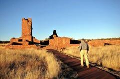 Missioni del pueblo delle saline fotografia stock