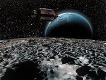 Missions d'Apollo illustration de vecteur