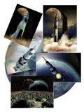 Missions d'Apollo illustration libre de droits