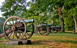 Missionsridge-Kanone Lizenzfreies Stockbild
