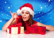 Missis santa 05 Royalty Free Stock Photography