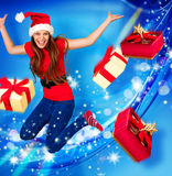 Missis santa 10 Royalty Free Stock Photos