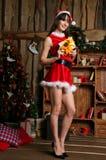 Missis Santa Claus Stock Photography