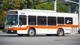 Mississauga City Bus Miway Stock Photography