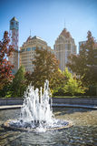 Mississauga Downtown Fountain Royalty Free Stock Photos