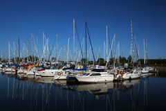 Mississauga harbor Stock Images