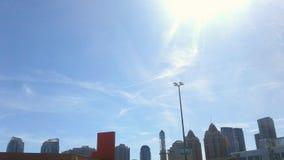Mississauga skies. Sunny blue skyline of mississauga Stock Photos