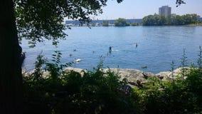 Mississauga-Ufergegend lizenzfreies stockfoto