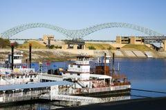 mississipisteamboats Royaltyfri Foto
