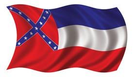 Mississippi bandery Zdjęcia Royalty Free