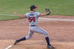 Mississippi Braves Pitcher Jesse Biddle Stock Images