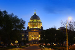 Mississippi capital building Stock Photos