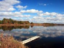 Mississippi con reflexiones Fotografía de archivo libre de regalías