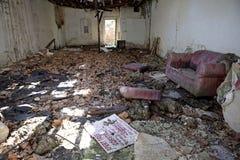 Mississippi de construção abandonado Imagem de Stock Royalty Free