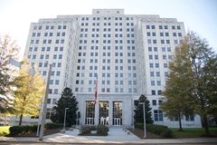 Mississippi Department of Transportation Building Royalty Free Stock Photography