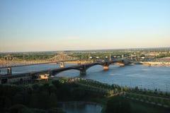 mississippi flod Arkivbilder