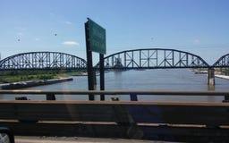 mississippi flod Arkivbild