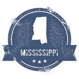 Mississippi mark. Royalty Free Stock Photos