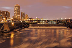 Mississippi in Minneapolis Stock Photography