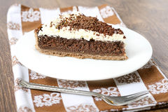 Mississippi mud pie Royalty Free Stock Images